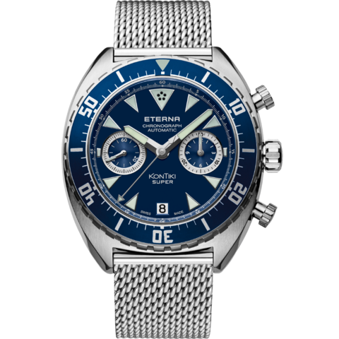 ETERNA SUPER KONTIKI CHRONOGRAPH MANUFACTURE – Mod. No. 7770.41.89.1718
