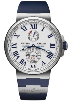 ULYSSE NARDIN MARINE CHRONOMETER WATCH – 1183-122-3/40