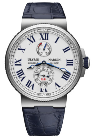 ULYSSE NARDIN MARINE CHRONOMETER WATCH – 1183-122/40