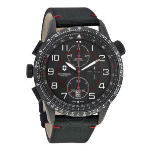 VICTORINOX SWISS ARMY AIRBOSS MACH 9 BLACK EDITION – 241716