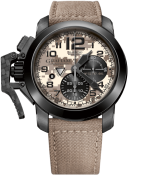 GRAHAM CHRONOFIGHTER OVERSIZE BLACK ARROW – 2CCAU.E05A.T32N
