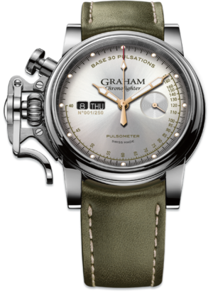 GRAHAM CHRONOFIGHTER VINTAGE PULSOMETER – 2CVCS.S01A.L141S