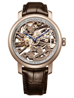 AEROWATCH RENAISSANCE SKELETON - 50931 RO01