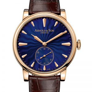 ARNOLD & SON HMS1 ROYAL BLUE - 1LCAP.U02A