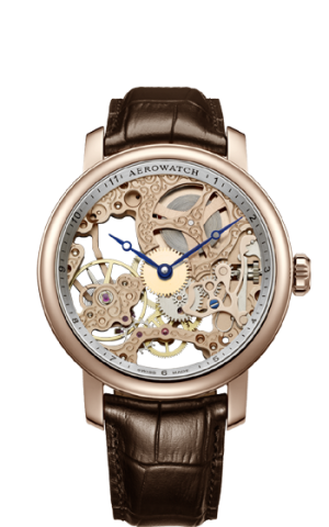 AEROWATCH RENAISSANCE SKELETON – 57931 RO01