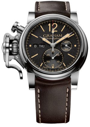 GRAHAM CHRONOFIGHTER VINTAGE - 2CVAS.B01A.L126S