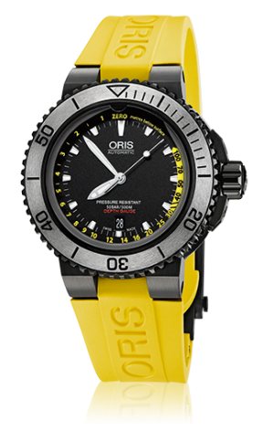 ORIS AQUIS DEPTH GAUGE - 01 733 7675 4754-SET RS