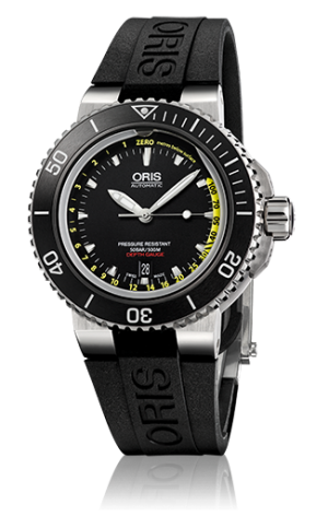 ORIS AQUIS DEPTH GAUGE - 01 733 7675 4154-SET RS