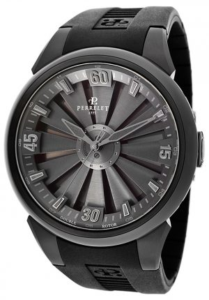 PERRELET TURBINE ALL BLACK – 44 MM – A1047/2