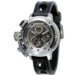 U-BOAT CHIMERA 46 MM NET TUNGSTEN CHRONOGRAPH – 8065