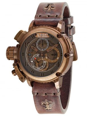 U-BOAT CHIMERA 46 MM NET BRONZE  – 8096