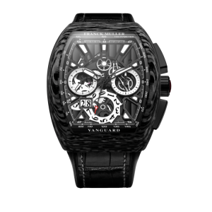 FRANCK MULLER VANGUARD GRAND DATE CARBON SKELETON – V45 CC GD SQT