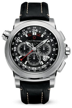 CARL F. BUCHERER PATRAVI TRAVELTEC - 00.10620.08.33.01