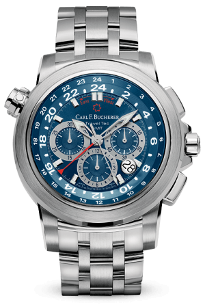 CARL F. BUCHERER PATRAVI TRAVELTEC - 00.10620.08.54.21