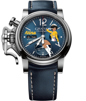 GRAHAM CHRONOFIGHTER VINTAGE NOSEART NINA – 2CVAS.U04A.L129S
