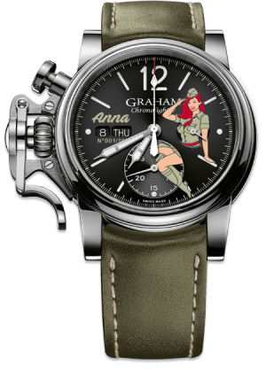 GRAHAM CHRONOFIGHTER VINTAGE NOSEART ANNA – 2CVAS.B22A.L141S