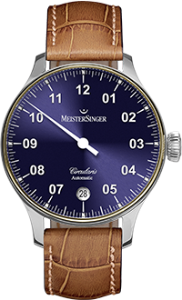 MEISTERSINGER CIRCULARIS AUTOMATIC WITH GOLD BEZEL – CC908LG