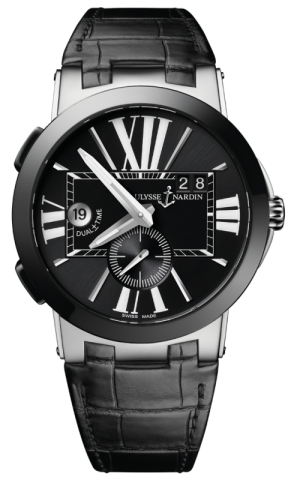 ULYSSE NARDIN EXECUTIVE DUAL TIME - 243-00/42