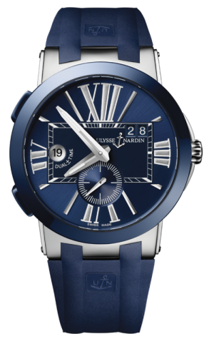 ULYSSE NARDIN EXECUTIVE DUAL TIME - 243-00-3/43