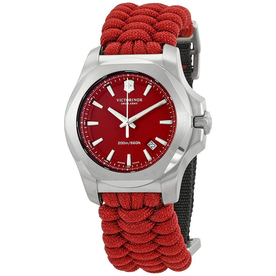 new inox swiss remade naimakka for ablogtowatch red watches army models with victorinox victor