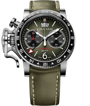 GRAHAM CHRONOFIGHTER VINTAGE GMT - 2CVBC.G01A.L141S