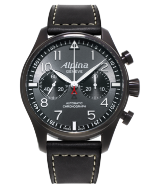"ALPINA STARTIMER PILOT ""BLACK STAR"" – AL- 860GB4FBS6"