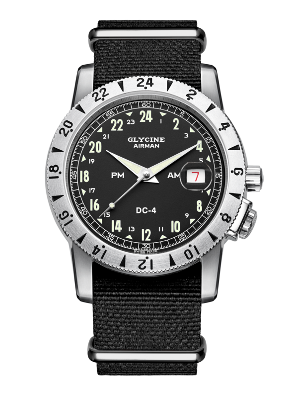 GLYCINE AIRMAN DC4 PURIST - GL0072