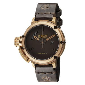 U-BOAT CHIMERA DAY DATE 46 MM BRONZE WATCH – 7538