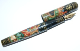 ARTUS GREAT HEROES ALEXANDER THE GREAT HAND-PAINTED FOUNTAIN PEN LTD EDITION