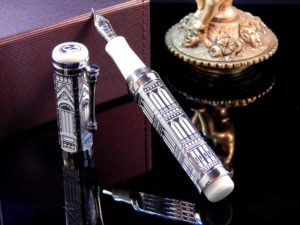 SANTINI ITALIA GIOTTO TOWER LIMITED EDITION FOUNTAIN PEN