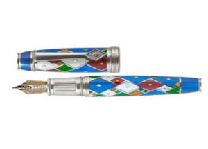 DAVID OSCARSON HARLEQUIN LIMITED EDITION FOUNTAIN PEN