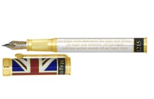 DAVID OSCARSON MAGNA CARTA LIMITED EDITION FOUNTAIN PEN