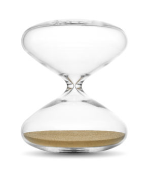 THE HOURGLASS 10′ GOLD BY MARC NEWSON – HS 10 Gold