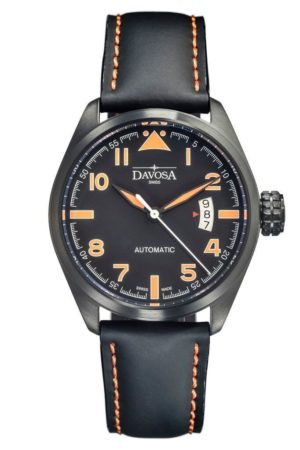 DAVOSA MILITARY BLACK PVD 200M 42MM AUTOMATIC – 161.511.94