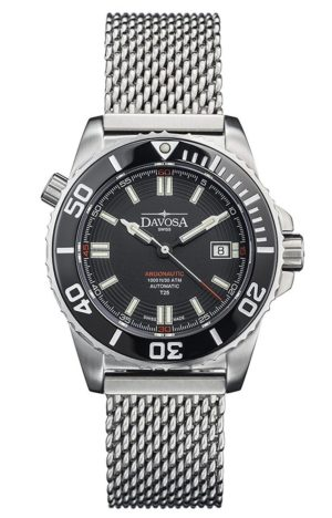 ARGONAUTIC LUMIS 42MM BLACK 300M DIVER TRITIUM – 161.520.10