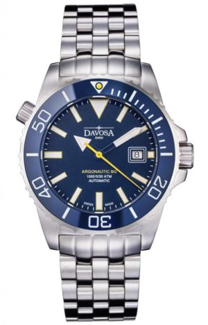 DAVOSA ARGONAUTIC BG 300M DIVER BLUE 42MM AUTOMATIC – 16152240
