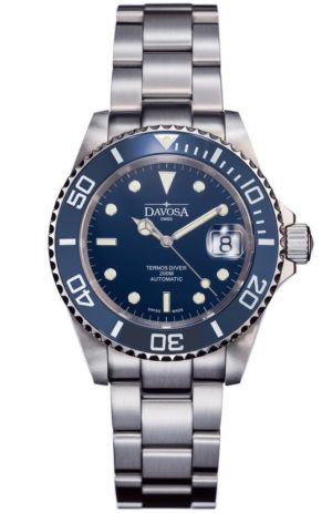 DAVOSA TERNOS BLUE 40MM AUTOMATIC 200M DIVER – 16155540