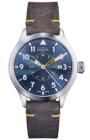 DAVOSA NEOTERIC PILOT 42MM BLUE AUTOMATIC – 161.565.46