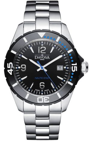 DAVOSA NAUTIC STAR BLACK/BLUE 100M 163.472.45