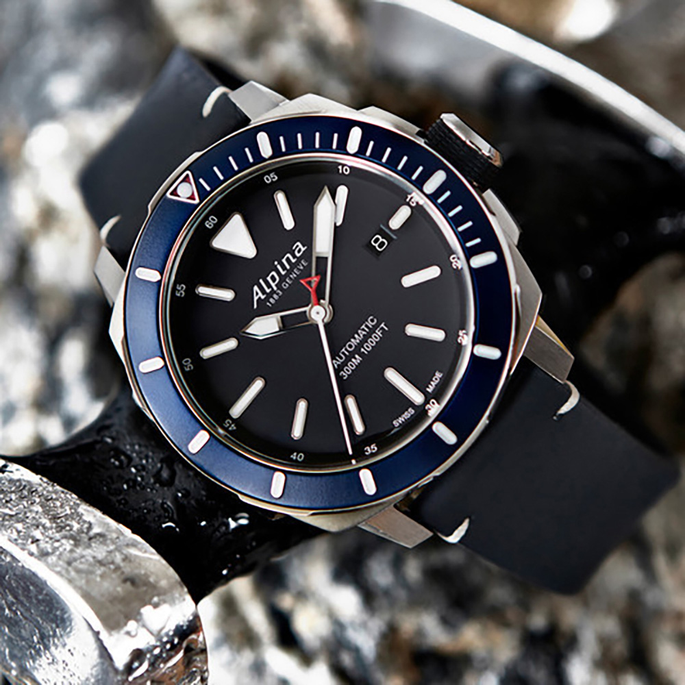 ALPINA SEASTRONG DIVER M AUTOMATIC ALBNV Swiss Luxury - Alpina diver watch