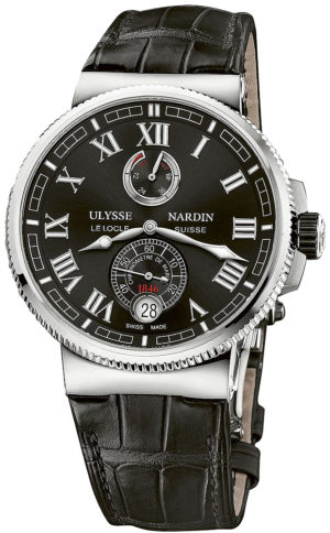 ULYSSE NARDIN MARINE CHRONOMETER MANUFACTURE 43MM – 1183-126/42