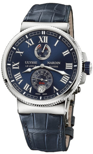 ULYSSE NARDIN MARINE MANUFACTURE CHRONOMETER 43MM – 1183-126-43