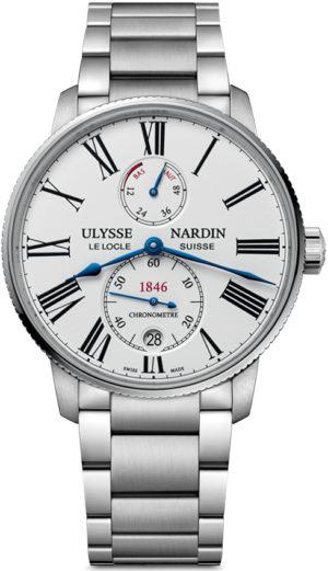 ULYSSE NARDIN MARINE CHRONOMETER TORPILLEUR 42MM – 1183-310-7M/40