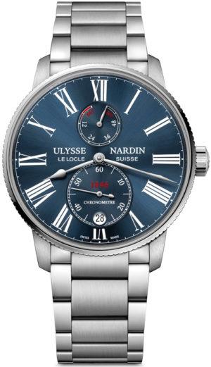 ULYSSE NARDIN MARINE CHRONOMETER TORPILLEUR 42MM – 1183-310-/M/40