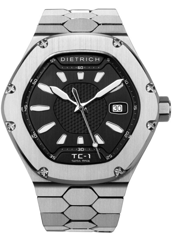 DIETRICH TIME COMPANION 1 – TC-1 SS BLACK