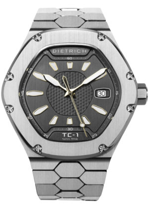 DIETRICH TIME COMPANION 1 – TC-1 SS GREY