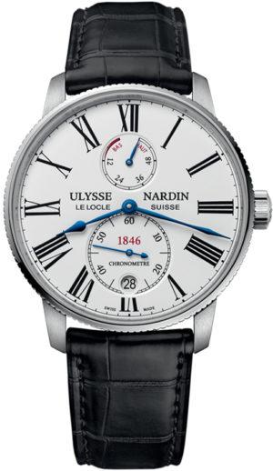 ULYSSE NARDIN MARINE CHRONOMETER TORPILLEUR 42 MM – 1183-310/40