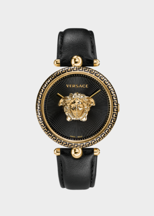 VERSACE PALAZZO EMPIRE BLACK LADY WATCH – VCO020017