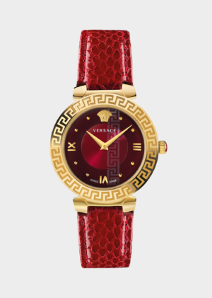 VERSACE RED DAPHNIS LADY WATCH