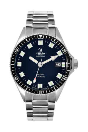 YEMA SUPERMAN MYSTERIOUS BLUE AUTOMATIC – YMHF1550A-GM